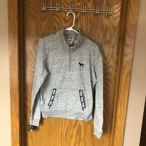 VS PINK Everyday Lounge Perfect Quarter-Zip